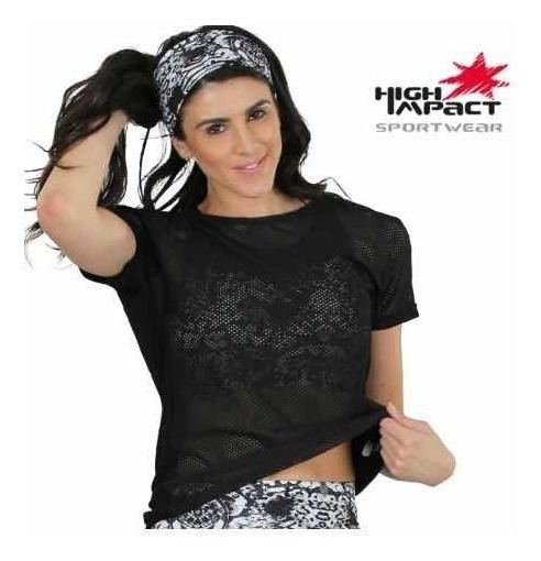 Camiseta Deportiva Dryfit Dama High Impact 91371