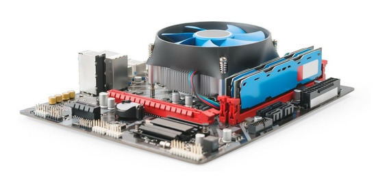 Kit Intel Lga 775 - Dual Core + Placa Mãe + Cooler