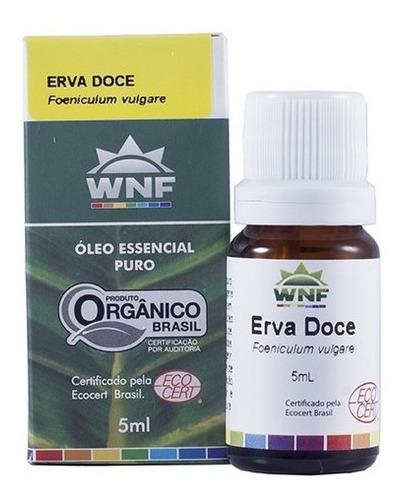 Óleo Essencial De Erva Doce Wnf 5ml