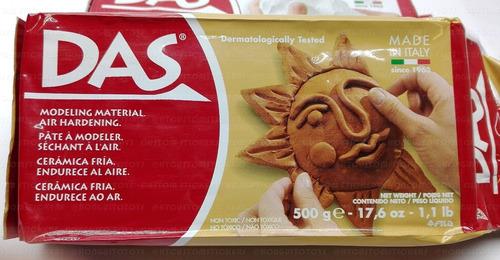 6 das 1kg Paquete De Terracota modelar arcilla