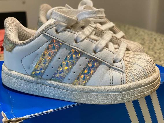 Zapatillas adidas Superstar Niños Talle 22