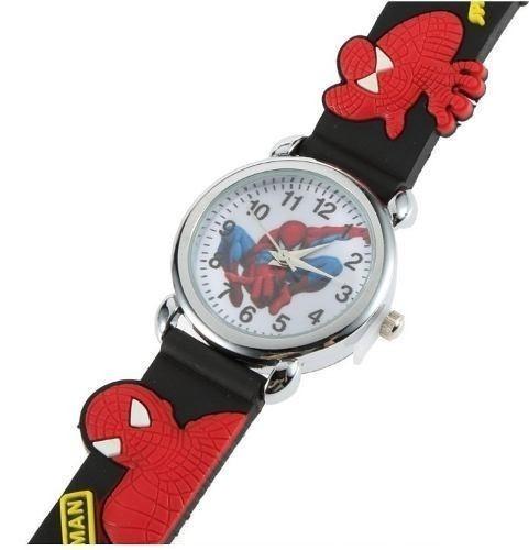 Relógio De Pulso Infantil Super Herói Homem Aranha Unissex