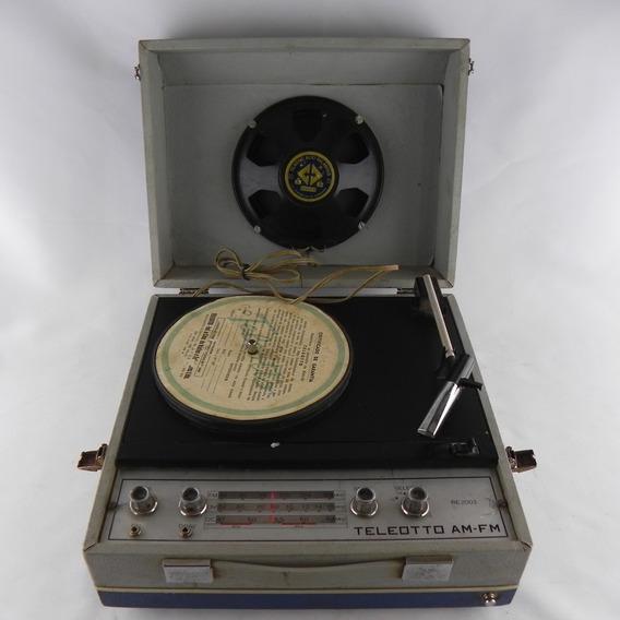 Rádio Vitrola Matela Sonata Teleotto Am-fm- Usado C/ Defeito