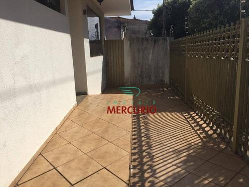 Casa Com 3 Dormitórios À Venda, 473 M² Por R$ 950.000,00 - Vila Mesquita - Bauru/sp - Ca2608