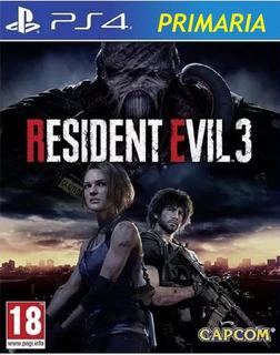 Resident Evil 3 Remake Ps4 1° / Preventa