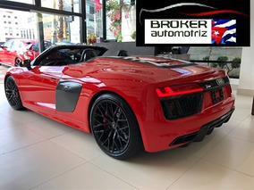 Audi R8 V10 Spyder Europea