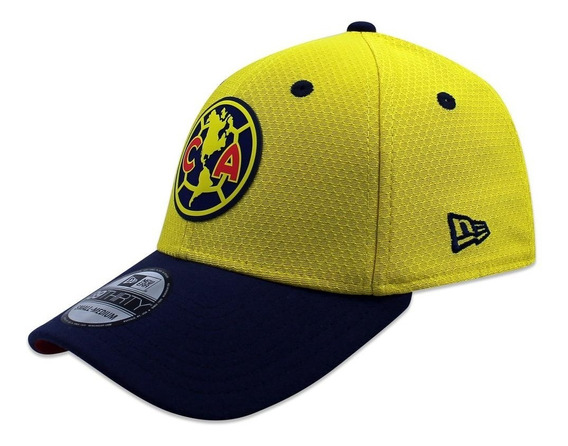 Gorra New Era 39 Thirty Lmx America Oficial Amarillo