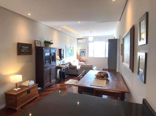 Imagem 1 de 16 de Apartamento Mobiliado Com Vista Livre Para O Mar - Centro - Florianópolis/sc - Ap5945