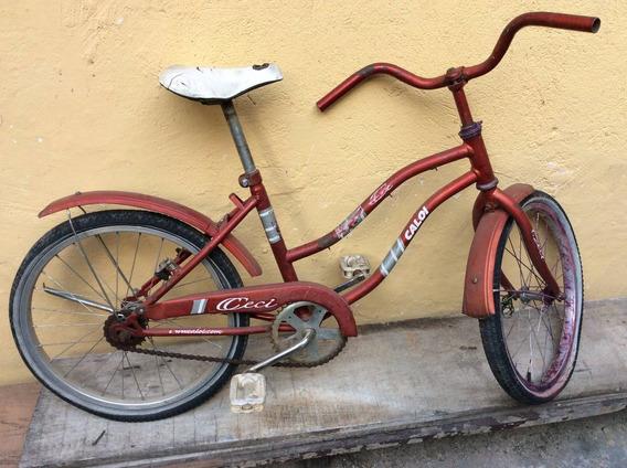 - Bicicleta Antiga Caloi Ceci - Peças Restauro