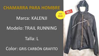 Chamarra Rompeviento Trail Running