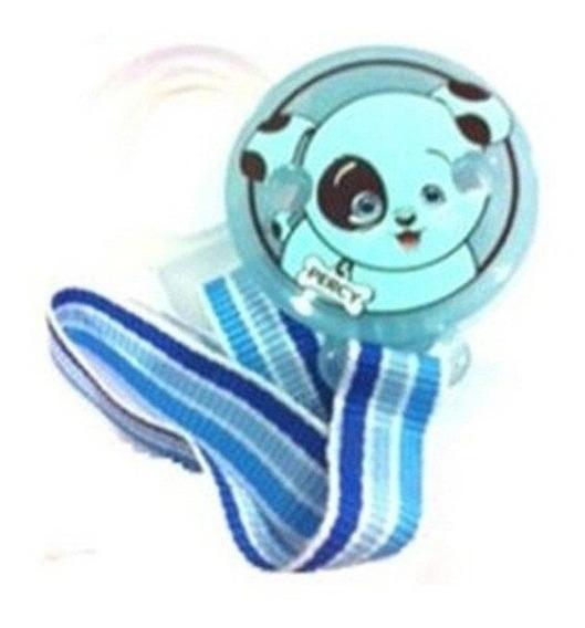 Prendedor Para Chupeta Raz Baby- Azul