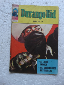 Nevada Nº 4! 3ª Série! Durango Kid! Ebal Nov 1974