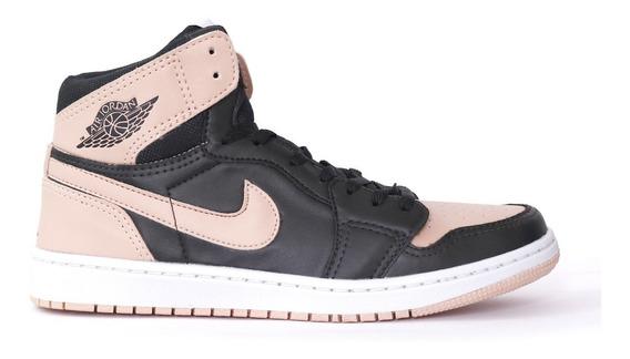 Tênis Nike Feminino Cano Alto Air Jordan 1 Chicago 40% Off
