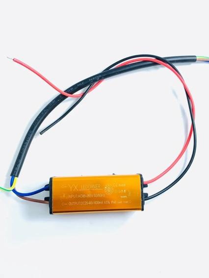 Driver Bivolt Reator P/ Chip 30w Reposição Refletor Led