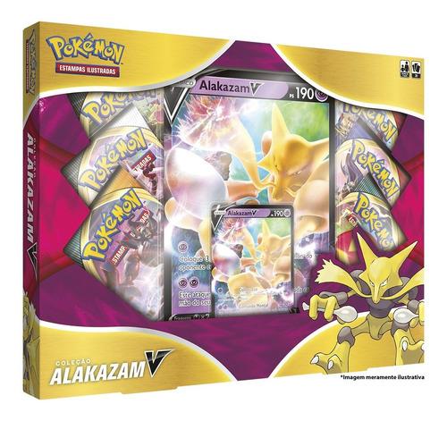 Card Game Pokémon Box Alakazam V Copag