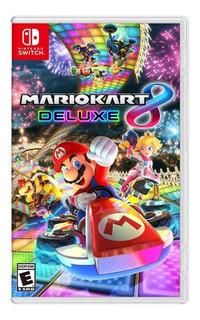 Mario Kart 8 Juego Fisico Sellado Nintendo Switch