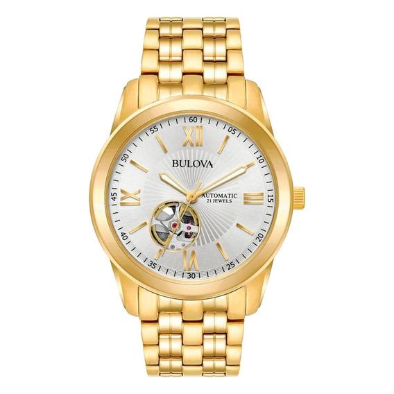 Relógio Bulova Automatic 21 Jewels Wb32004h