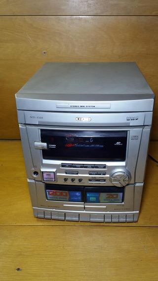 Mini System Cce Md - X80 (leia O Anuncio)