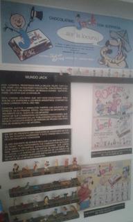 Chocolatin Jack Exhibidor Completo Coleccion 1968 Y 1970