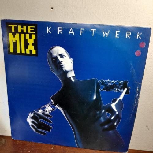 Imagem 1 de 9 de Vinil Lp Kraftwerk The Mix Com Encarte  Ótimo Estado. Duplo