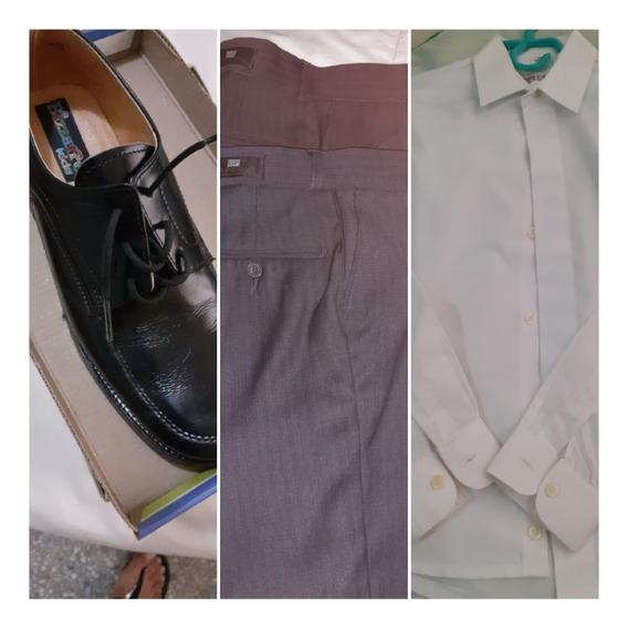 Pantano, Camisa Y Zapatos De Primera Comunion