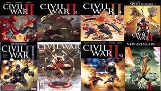 Coleccion Comic Civil War Marvel