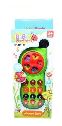 Imagen 1 de 3 de Celular Infantil Baby Plaything Musica Y Sonidos