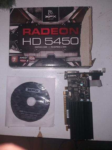 Placa De Vídeo Radeon Hd5450 Amd 1gb