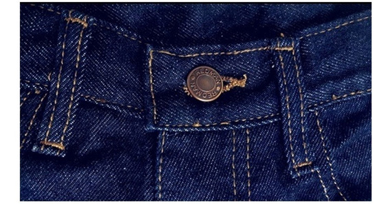 Pantalón Blue Jeans Triple Costura Industrial 14,5 Onzas