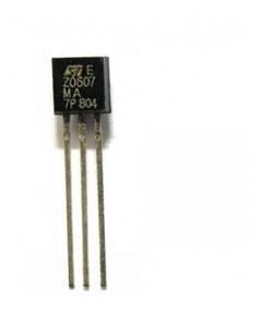 Triac Z0607ma Z0607 Ma Transistor Original Kit Com 12