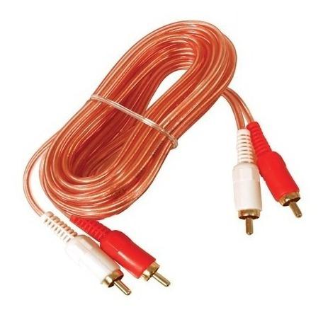 Cable 2x2 Rca Oxigenado De 3.0 Mts