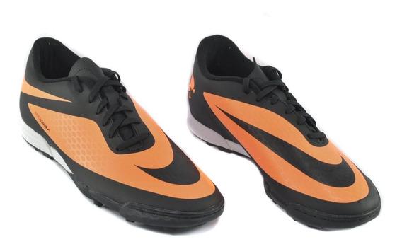 Tenis Nike Futbol Hypervenom Phade Color Negro Hombre Full
