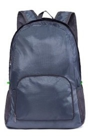Mochila Plegable Travel Bag Unisex Nylon Impermeable