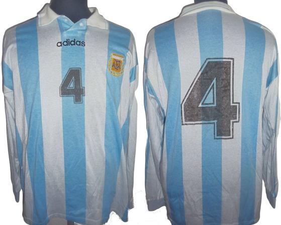 Camiseta De Argentina 1994 adidas #4 Talle 4 !!!