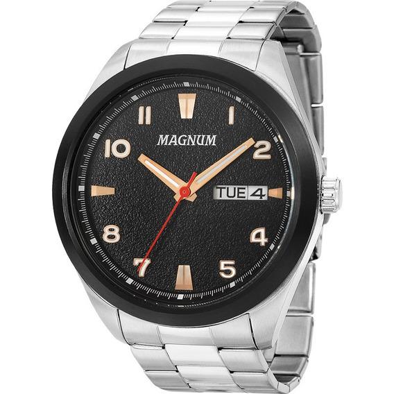 Relógio Magnum Masculino Original Garantia Nota Ma34923t