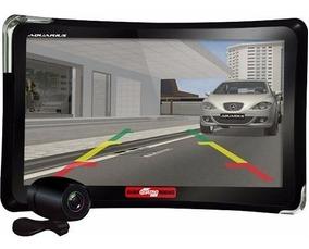 Gps Automotivo Quatro Rodas 7.0 Câmera Tv E Nota Fiscal