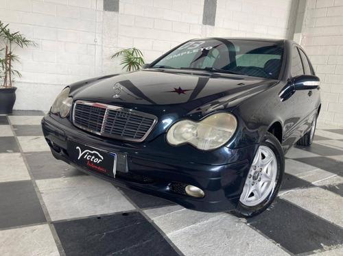 Imagem 1 de 9 de Mercedes-benz C 180 1.8 16v Gasolina 4p Automático
