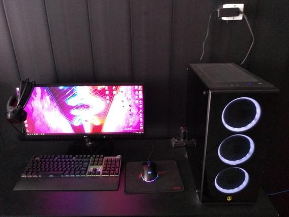 Pc Pichau Gamer, Completo Monitor, Headset, Mouse E Teclado