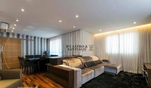 Imagem 1 de 20 de Apartamento À Venda, 142 M² Por R$ 1.200.000,00 - Mooca - São Paulo/sp - Ap0372