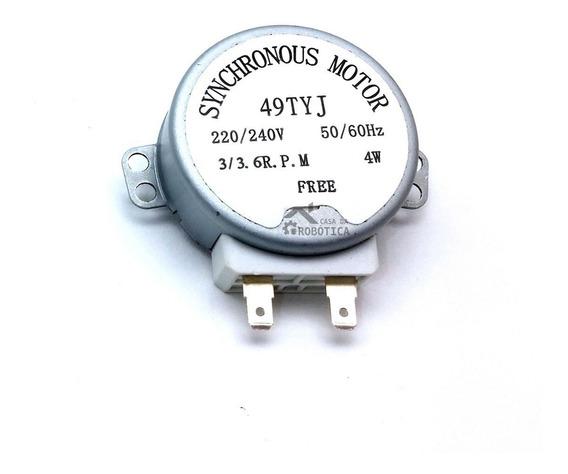 Motor De Microondas 3 Rpm - 220v