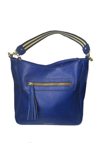Imagen 1 de 4 de Bolsa Hobo Mujer Azul Marca Liz Claiborne Nueva Edicion