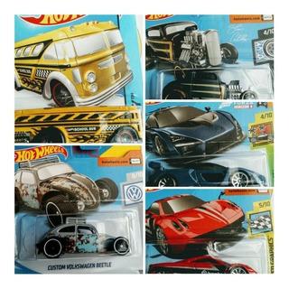 Especiais Hot Wheels Fusca Bus Mclaren Senna Ford 32 Pagani