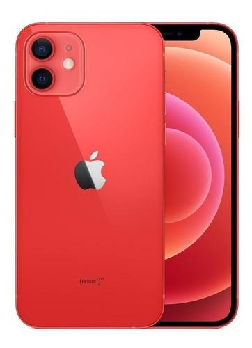Imagem 1 de 4 de iPhone 12 64gb Vermelho Ios 5g Wi-fi Tela 6.1