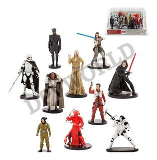 Star Wars 8 The Last Jedi Figuras Coleccion Disney Original