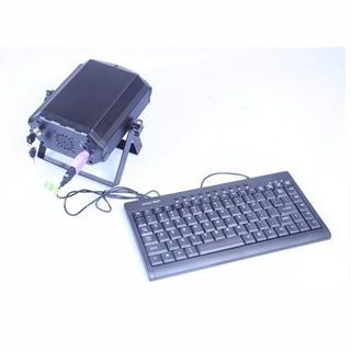 Laser Dj Rgb Escribe Texto Con Teclado Cr-laser Txt-rgb