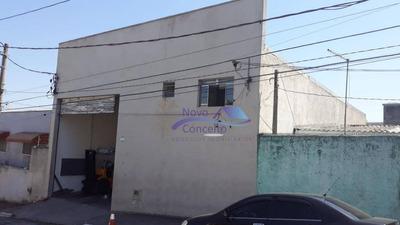 Galpão Para Alugar, 260 M² Por R$ 4.200/mês - Vila Nova York - São Paulo/sp - Ga0066