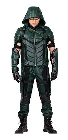 Green Arrow Disfraz Niño Disfraces Hombre Recuerdos Cotillón Y Fiestas En Mercado Libre México