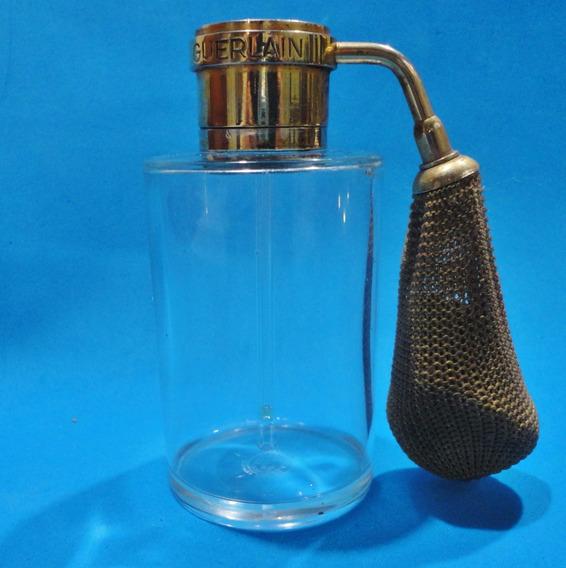 Perfumero Atomizador Guerlain Antiguo Baccarat Años 30