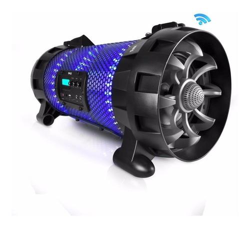 Pyle Parlante Portátil Pbmspg260l Bluetooth Usb Sdfm C/luces