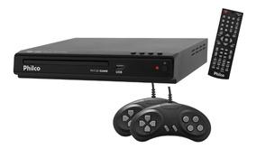 Dvd Game Philco Ph150 - Entrada Usb, Função Game Com 02 Joy